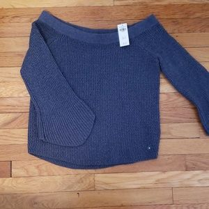 NWT Abercrombie and Fitch off the shoulder sweater